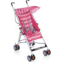 Carrinho De Bebê Umbrella Slim Rosa Voyage