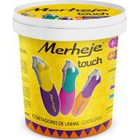 Cortador De Unhas - Pote C/ 24 Un. - Merheje - Touch - Multicolorido