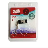 Pen Drive Musical 100 Músicas E 5 Clips Rock