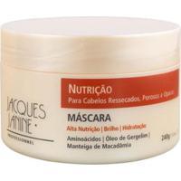 Máscara Nutrição Jacques Janine 240G - Unissex-Incolor