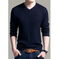 Suéter Básico Masculino Whistler - Azul