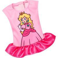 Roupinhas E Acessórios - Barbie - Super Mário Vestido Princesa - Mattel