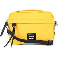 Bolsa Santa Lolla Sport Nylon Feminina - Feminino-Amarelo