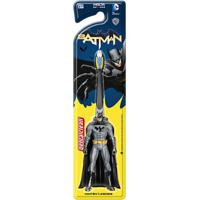 Escova Dental Infantil Dentalclean Batman 3+ Anos Macia Cores Sortidas 1 Unidade
