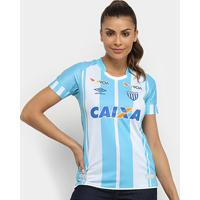 Camisa Avaí I 17/18 S/N° - Torcedor Umbro Feminina - Feminino