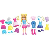 Boneca Polly Pocket - Polly Pronta Para A Festa - Kit Fabuloso - Mattel