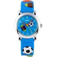 Relógio Infantil Skmei Analógico Masculino - Masculino-Azul