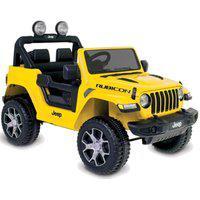 Carrinho Elétrico Jeep Wrangler (Amarelo) R/C Bandeirante