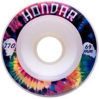 Roda Hondar Longboard 69Mm Freeride Fluorescente White 77A