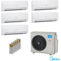 Ar Condicionado Multi Split Springer Inverter Midea Com 4X 9.000 Btus + 1X 18.000 Btus, Quente E Frio, Turbo, Branco
