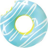 Bóia Gigante Donut - Unissex-Azul Claro