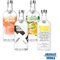 Vodka Absolut Flavors (Vanilia Sueca + Citron Sueca + Mango Sueca + Apeach Sueca) Completo 750Ml - 04 Unidades