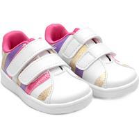 Tênis Infantil Bee Happy Dock Classic Star Iii - Feminino-Branco