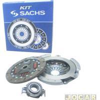 Kit De Embreagem - Sachs - Corsa/Celta 1.0 8/16V - 2000 Em Diante - Contém: Platô, Disco E Rolamento - Jogo - 6515