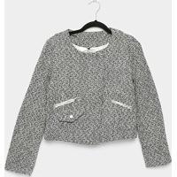 Casaco The Style Box Tweed Feminino - Feminino