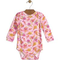 Body Floral- Rosa Claro & Amareloup Baby - Up Kids