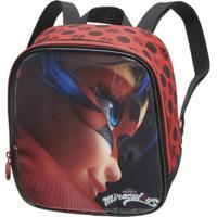Lancheira Infantil Pacific Miraculous Ladybug Feminina - Feminino-Vermelho