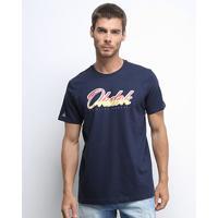 Camiseta Okdok Classic Logo Masculina - Masculino-Marinho