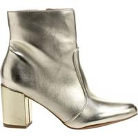 Bota Metalizada- Dourada- Salto: 7,5Cmshoestock