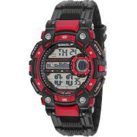 Kit De Relógio Digital Speedo Masculino + Fone De Ouvido - 80637G0Evnp1K1 Preto