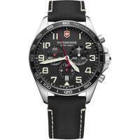 Relógio Victorinox Swiss Army Masculino Couro Preto - 241852