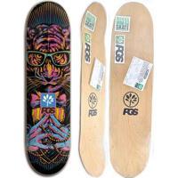 Shape De Skate Progress - Pgs Tigre 8.0 + Lixa Grátis - Unissex