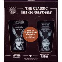 Qod Barber Shop Creme De Barbear + Loção Pós Barba