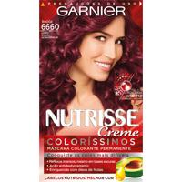 Tintura Garnier Nutrisse Coloríssimos Kit Creme Cor 6660 Rouge