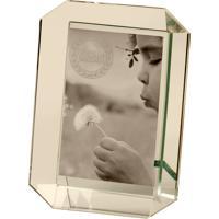 Porta Retrato De Cristal Decorativo Pinhel