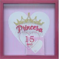 Quadro Decorativo Infantil Celebrattions Vermelho (27X27)