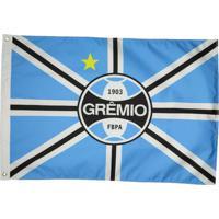 Bandeira Grêmio Torcedor 2 Panos - Unissex