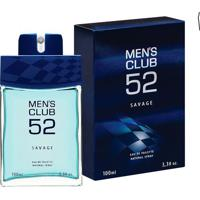 Mens Club Savage Eau De Toilette Masculino 100 Ml