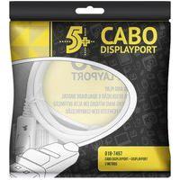 Cabo 5+ Displayport Macho 2M Com Trava 018-7497