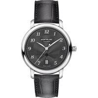 Relógio Montblanc Masculino Couro Cinza - 118517