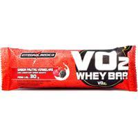 Barra Protéica Vo2 Protein Bar Integralmédica Frutas Vermelhas Com 30G