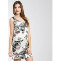 Vestido Fernanda Almeida Flora - Feminino-Estampado