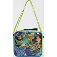 Lancheira Toy Story Infantil Dermiwil Masculina - Masculino-Azul Escuro