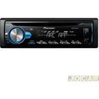 Cd Player - Pioneer - Usb/Mp3/Auto Rádio - Cada (Unidade) - Deh-X10Br