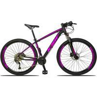 Bicicleta Aro 29 Ksw 2.0 Kit Shimano Acera 27V Freios Acera Hidráulico E Susp. Trava No Ombro - Unissex