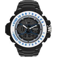 Relógio Speedo 81100G0Eknp2 Preto/Prata