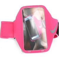 Braçadeira Nike Lean Arm Band Hyper Para Iphone 6/6S/7/7S/ Samsung - Feminino-Rosa