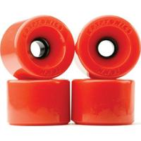 Rodas Kryptonics Star Trac Red 55Mm/78A - Unissex