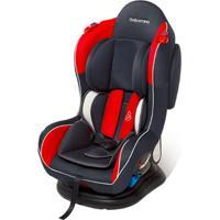 Cadeira Para Auto Transbaby Até 25Kg Reclinável Grafite/Vermelho - Galzerano