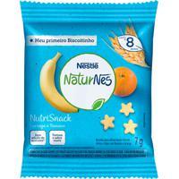 Biscoito Nestlé Naturnes Nutrisnack Laranja E Banana 7G