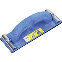 Lixadeira Azul Manual Plástica