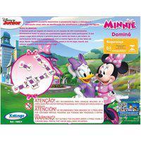 Dominó Minnie Disney Xalingo 1860.9 Com 28 Peças Madeira