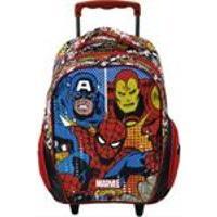 "Mala Com Rodas Infantil 14"" Marvel Comics Legends - Xeryus"