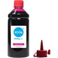 Tinta Para Epson L220 Bulk Ink Sublimática Magenta 500Ml Koga