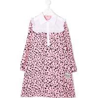 Nº21 Kids Vestido Com Estampa De Estrela - Rosa