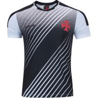 Camiseta Do Vasco Da Gama Strike - Masculina - Branco/Preto